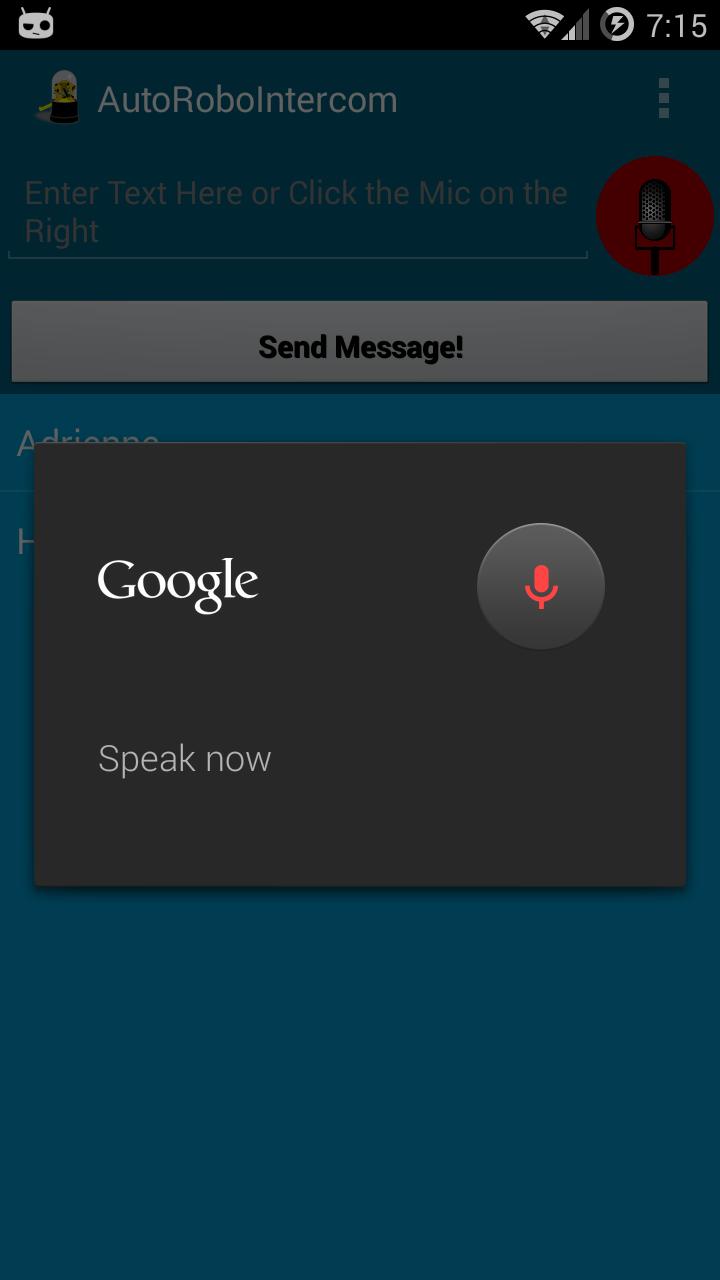 AutoRoboIntercom Now On Google Play