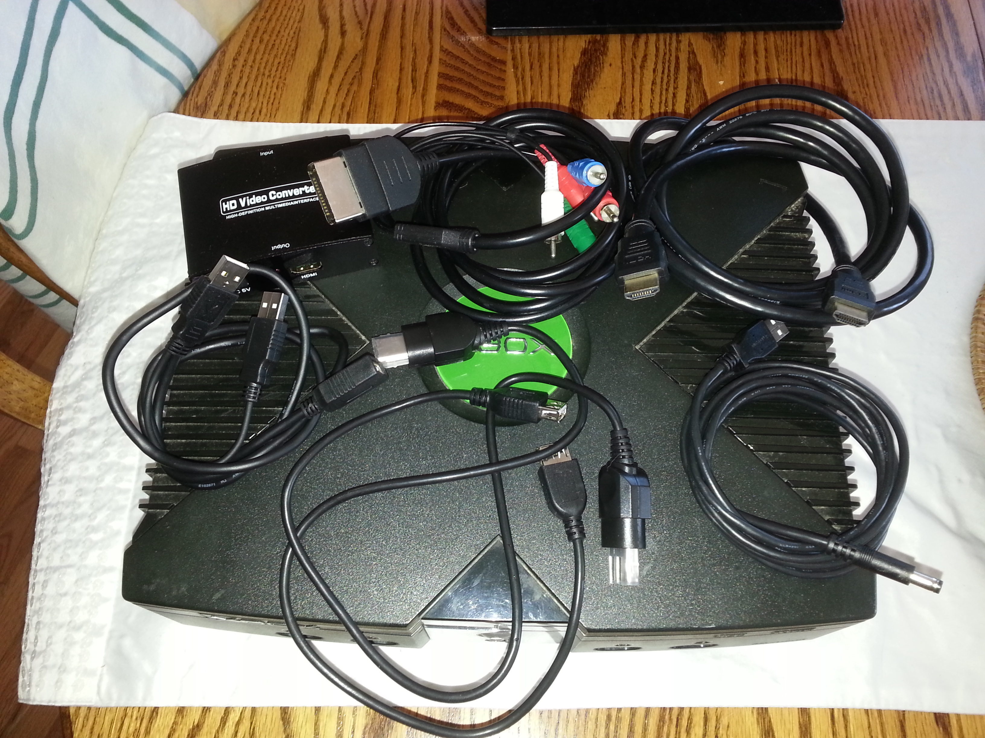 No Tools, (No External Power Supply) Xbox HDMI Output (Video)