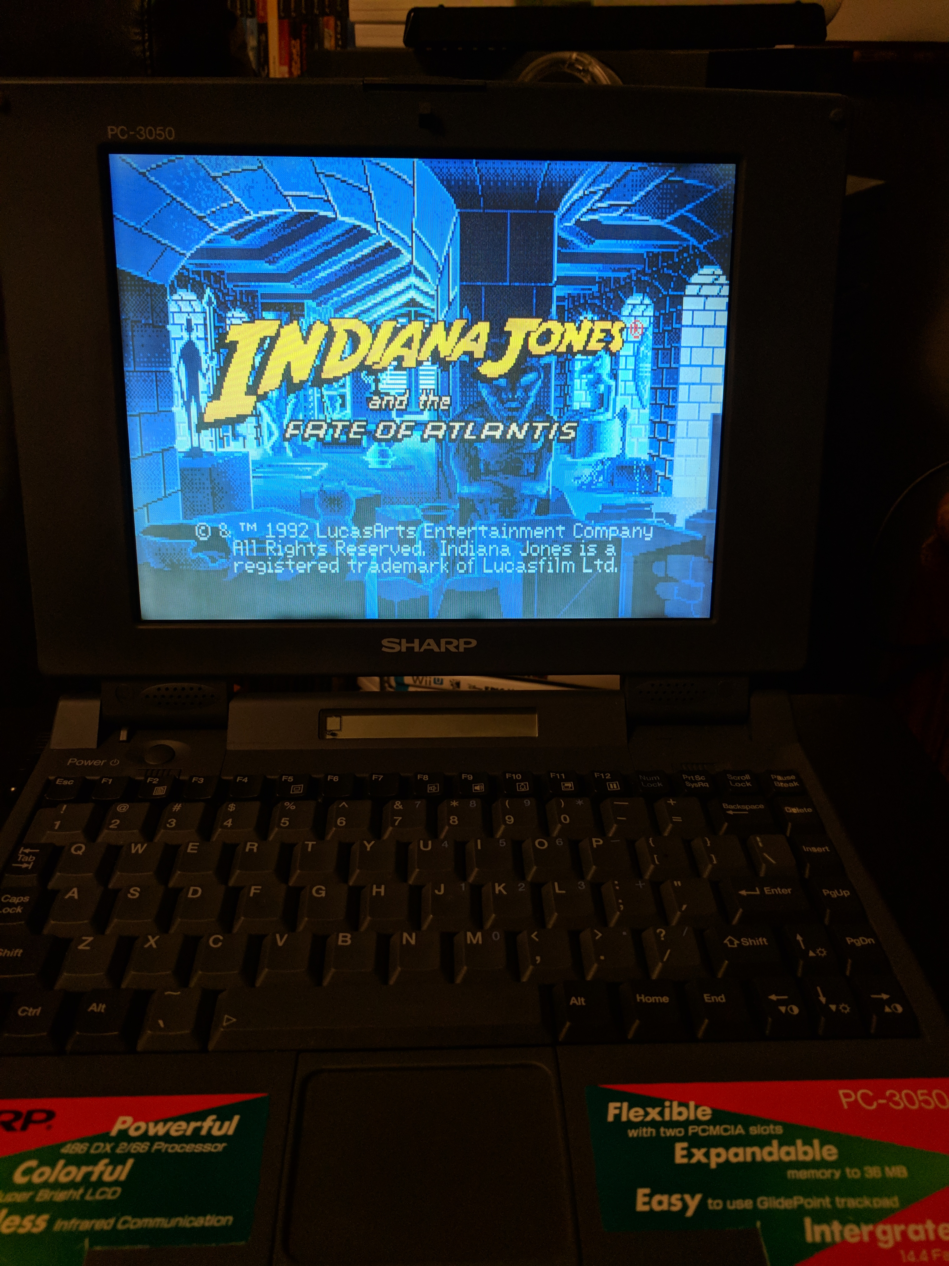 My (486) Gaming Laptop